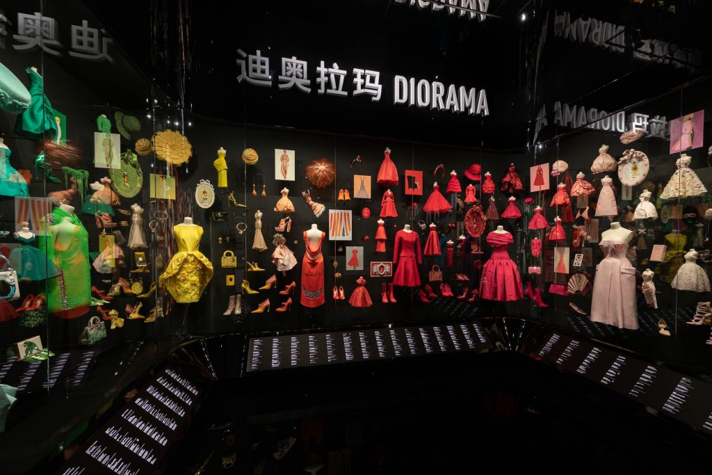christian dior designer of dream shanghai exhibit